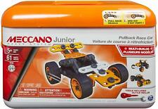 Meccano Junior Toolbox, Pullback Race Car, 5 Model Set