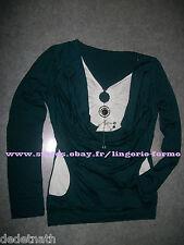 T-shirt top sweat shirt pull tunique débardeur gilet