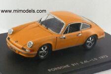 1973 PORSCHE 911 2.4 LS Deep Yellow 1:43 diecast MINT in BOX