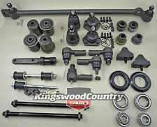 KIT 2. Front End HQ HJ HX Tie rod Ball joint Drag link Idler Control arm Bush