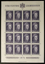 Sello LIECHTENSTEIN Stamp Yvert y Tellier nº488 x16 De Hecho De La Hoja N Y5