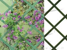 TRALICCIO IN PVC GRIGLIATO ESTENSIBILE SUPPORTO RAMPICANTI DIVISORIO MT. 2 x 1
