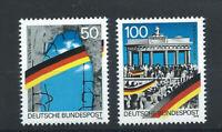 Allemagne RFA N°1313/14** (MNH) 1990 - Chute du mur de Berlin