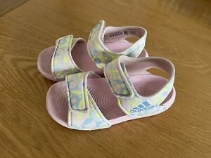 Girls Adidas Summer Sandals Size 8