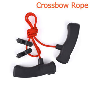 Crossbow Cocking Device Crossbow Rope Cocker Aid Cocking  Double T Handle String