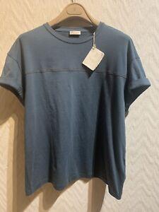 BRUNELLO CUCINELLI Women's Monili Detail Summer T-shirt BNWT