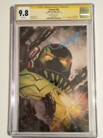 Venom # 28 CGC SS 9.8 Jonboy Meyers Variant Signed by Meyers -  Virus, Codex