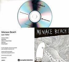 MENACE BEACH Low Talker 2014 UK 5-trk watermarked promo test CD