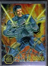 1995 Marvel Annual Flair '95 Chromium Insert Card # 9 of 12  PUNISHER   NM/M