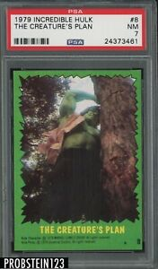 1979 Incredible Hulk #8 The Creature's Plan PSA 7 NM
