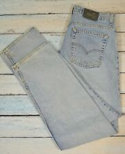 Vintage Levis Womens Relaxed Guys Fit Silver Tab Jeans 13 JR. M