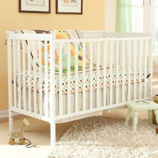 Convertible Crib Baby Infant Toddler WHITE Nursery Furniture Safety CertifiedNEW