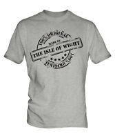 MADE IN THE ISLE OF WIGHT MENS T-SHIRT GIFT CHRISTMAS BIRTHDAY 18TH 30TH 40TH