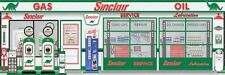 SINCLAIR DINO GAS STATION SCENE CUSTOM JOB WALL MURAL SIGN BANNER ART 10' X 30'