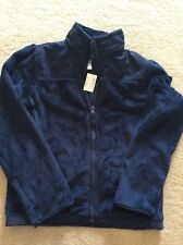 The Children's Place Girls Zip Up Faux Fur Jacket ~ Size 14 - BNWT