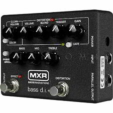 MXR M80 Bass Distortion+ Plus Overdrive Effects Pedal/DI Dunlop M-80 Direct Box