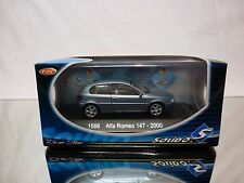 SOLIDO 1566 ALFA ROMEO 147 - 2000 - METALLIC BLEU 1:43 - NEAR MINT IN BOX