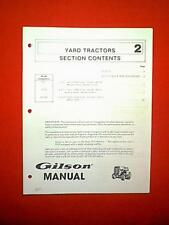 s l225 gilson tractor in outdoor power equipment manuals & guides ebay