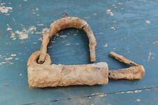 European Medieval Viking huge iron lock #25
