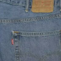LEVIS 550 Blue Jeans Tag Size 42x30 Red Tab 100% Cotton