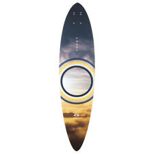 Aob Sunny pintail cruiser longboard skateboard deck - Blemmished