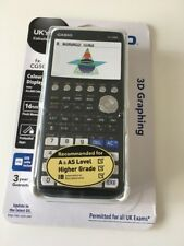 casio fx-CG50 A-Level colour calculator.  With printed training pack
