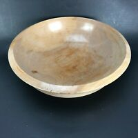 MCM Vintage Woodpecker Woodware Bowl Mid Century JAPAN Vtg Light Wooden Wood