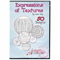 Expressions of Textures by Leah Day Artistic 50 Designs New and Unopened