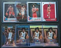 (8) 2019 Eight Card Coby White Rookie Lot Hoops Prizm Select Optic Silver #180
