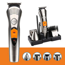 KEMI 7in1 Men Rechargeable Trimmer Grooming Body Clipper Razor Shaver Kit 580A