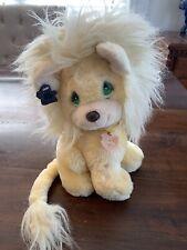 """Vintage 1985 Applause Leon Lion 11"""" Plush! Precious Moments Lion RARE"""