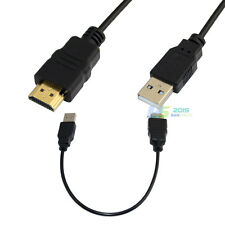 USB 2.0 to HDMI Converter Cable Display Graphic Adapter for PC HD 1080P 3D 20""