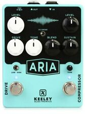 Keeley Aria Compressor and Overdrive Pedal free shipping