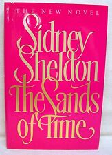 The Sands Of Time By Sidney Sheldon Used Book Hardback W/Dust Cover