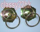 One Pair Metal Circle Handle Ring Drum Handle for Lion Dance Drum     parts
