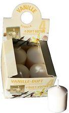Duftkerze Votivkerze Dufti von GIES Vanille 8 Stück (2 Pakete)