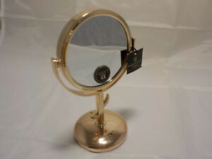 Danielle Creations Gold 4x Mini Vanity Mirror 6 Inches Tall
