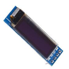 "IIC I2C 0.91"" White 128x32 White OLED LCD Display Module 3.3v 5v FOR AVR Arduino"