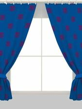 """Football FC BARCELONA 66"""" x 72"""" CURTAINS NEW KIDS CHRISTMAS OFFICIAL GIFT"""