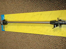 "LED POLE LIGHT ANCHOR ALL-AROUND NAVIGATION 02931 STAINLESS 48"" WITH BLACK BASE"