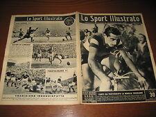 LO SPORT ILLUSTRATO GAZZETTA 1949/43 FAUSTO COPPI TRICOLORE ! GIRO LOMBARDIA