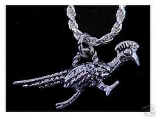 LOOK Roadrunner Road runner pendant charm Silver Jewelry