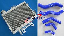 For Honda CR125 CR125R 1998 1999 98 99 CR 125 R Aluminum radiator &silicone hose