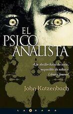 El Psicoanalista by John Katzenbach (Paperback / softback, 2003)
