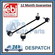 2x Mercedes Benz C CLK Class Front Axle Anti Roll Bar Drop Stabiliser Link Rod