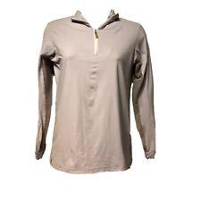 Tailored Sportsman Icefil Long Sleeve 1/4 ZIp Lilac Purple Shirt Size XS