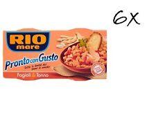 12 Rio Mare tonno & fagioli fertiggerichte Thunfisch & Bohnen 160g Instant food