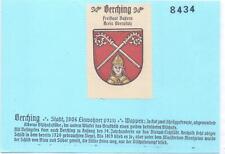 Reklamemarke Wappen von Berching/Bayern um 1925 (B415)