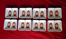 Set of 8 Twin / double Condiment / sauce Choice Brand Melamine dishes / bowls