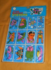 Vintage Lot Of 2 Herself The Elf NOS Puffy Scented Stickers 1980s 1982 Sealed